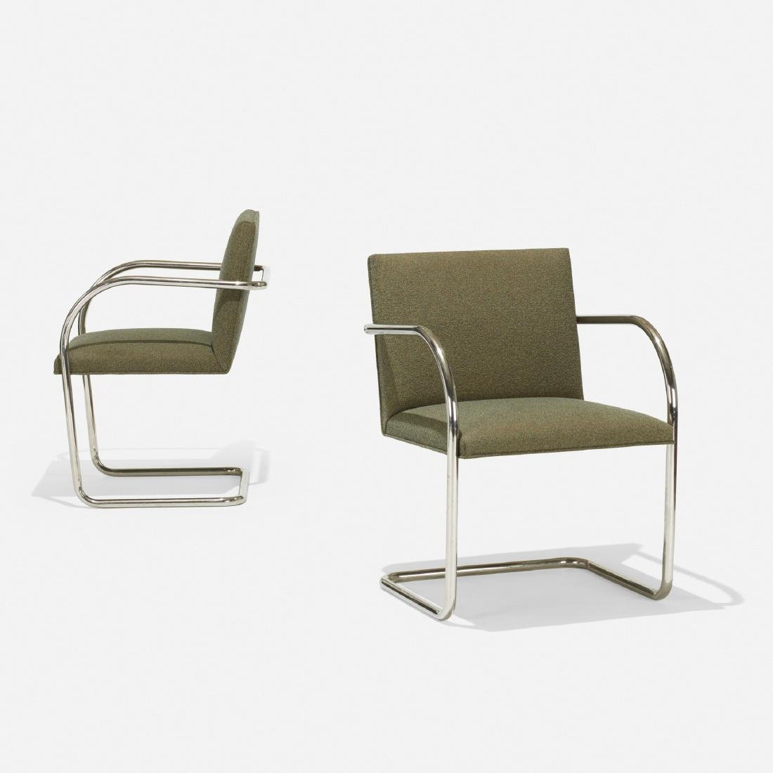 Ludwig Mies van der Rohe, Brno chairs, pair - 2