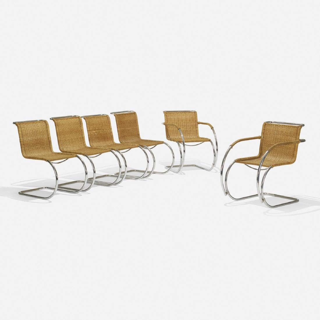 Ludwig Mies van der Rohe, MR20 and MR10 chairs