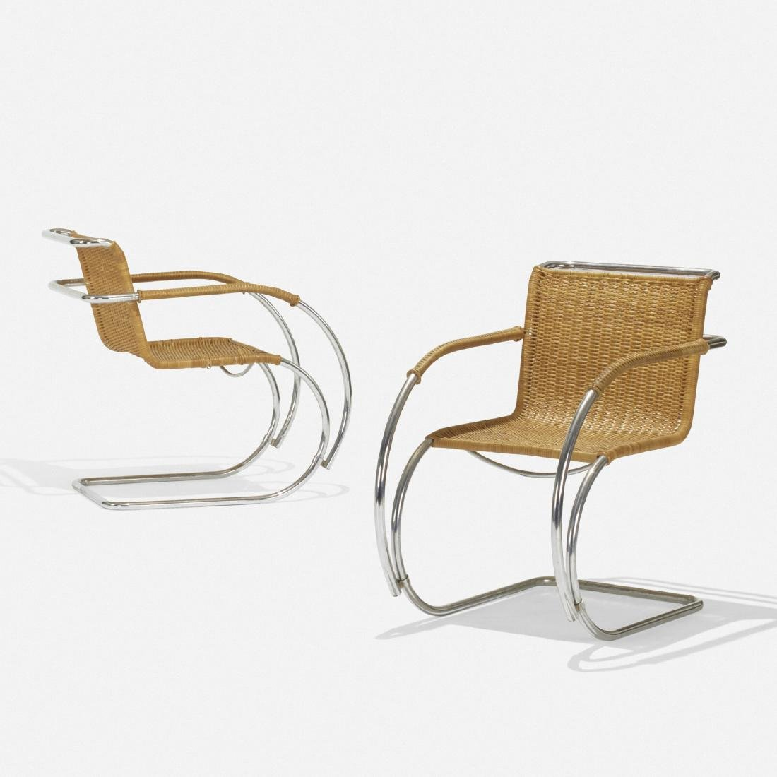 Ludwig Mies van der Rohe, MR20 and MR10 chairs - 3