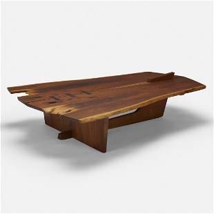 George Nakashima, Rare Conoid coffee table