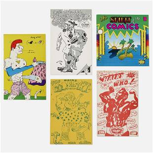 Hairy Who (various artists), artists books and ephemera