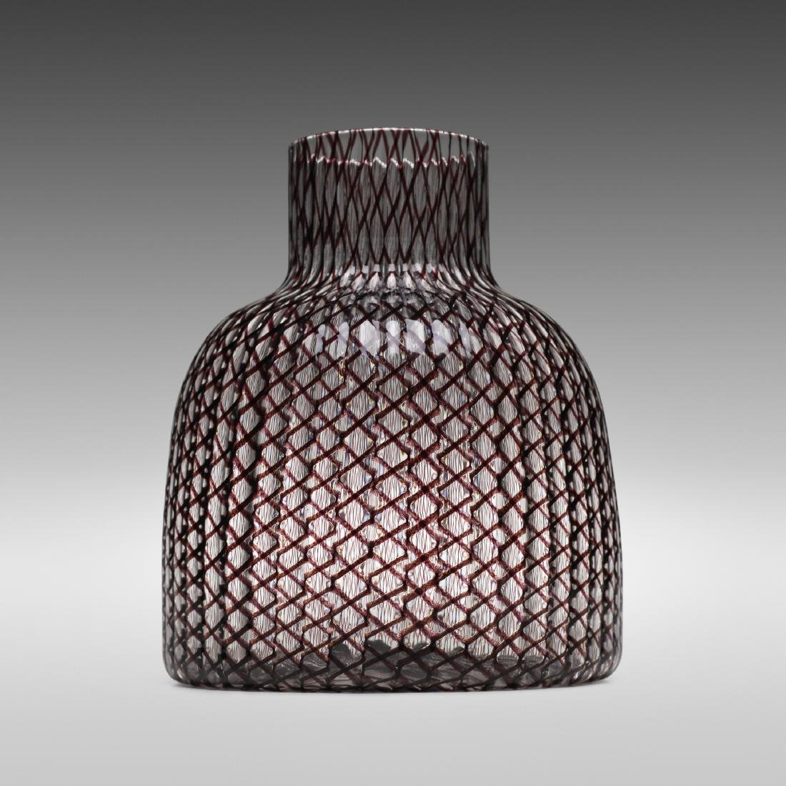 Paolo Venini, Zanfirico vase, model 4701