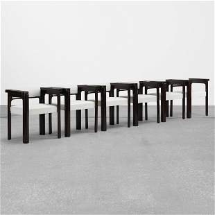 Angelo Mangiarotti, Idlor armchair, set of six