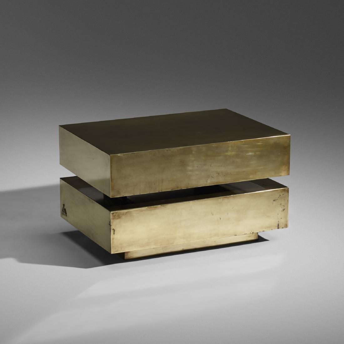 Gabriella Crespi, coffee table