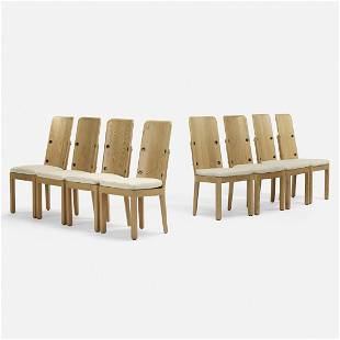 Axel Einar Hjorth, Lovo dining chairs, set of eight