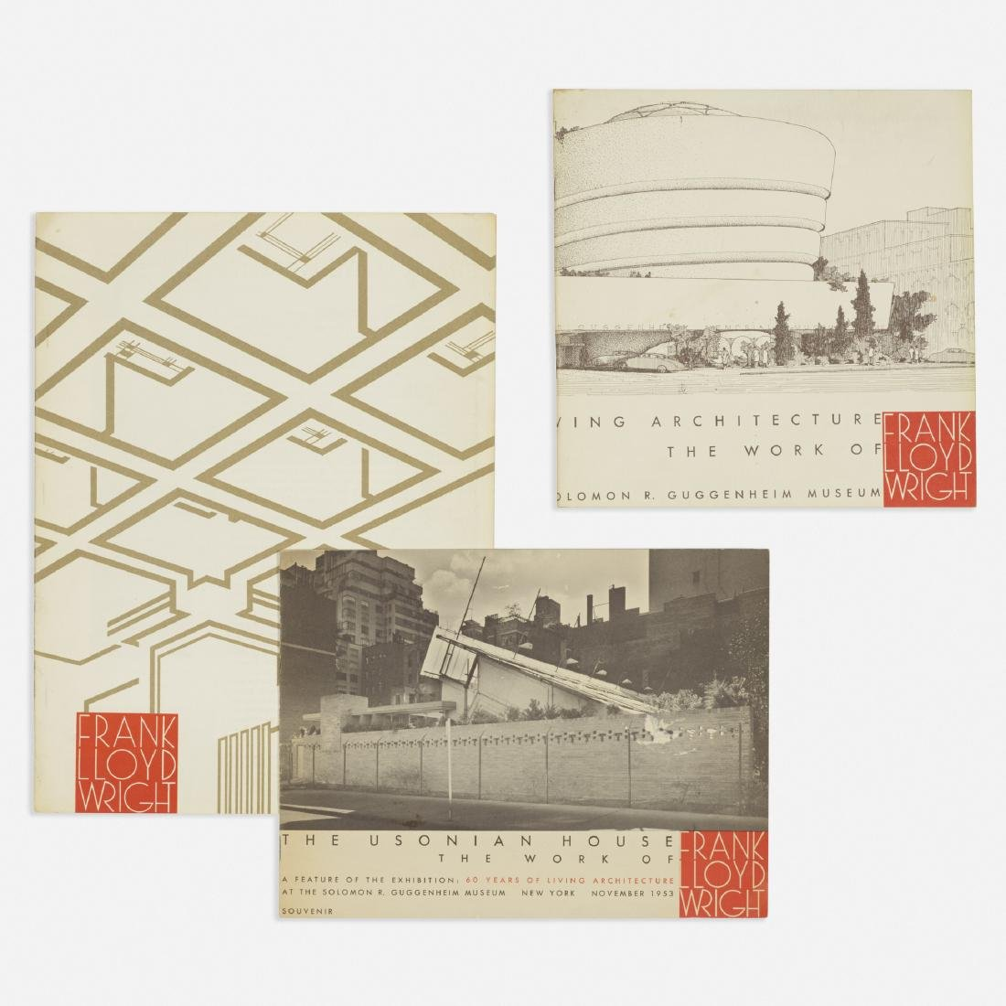 printed materials relating to Frank Lloyd Wright