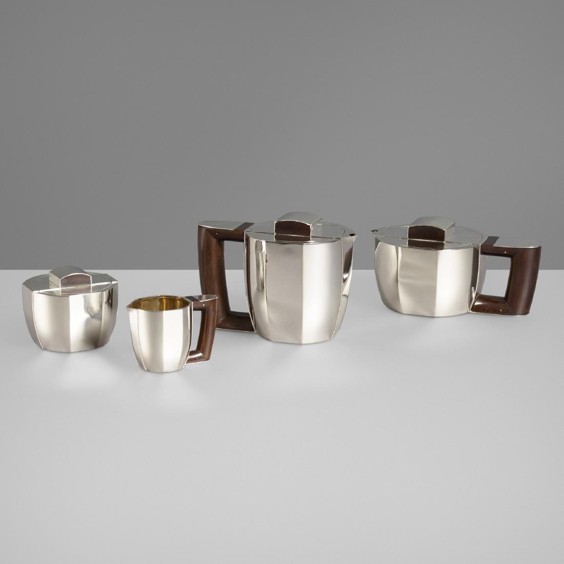 Jean-Emile Puiforcat, coffee and tea service