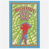 Gary Grimshaw Jimi Hendrix Experience poster