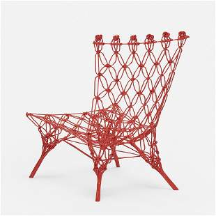 Marcel Wanders, Knotted Rouge chair