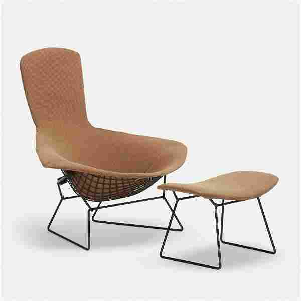 Harry Bertoia, Bird chair and ottoman