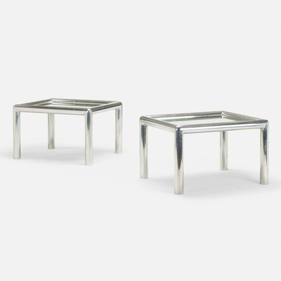 John Mascheroni, Tubo occasional tables, pair