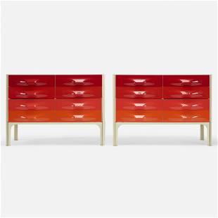Raymond Loewy, DF 2000 cabinets, pair