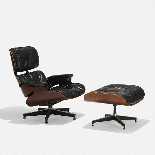 Strange Charles And Ray Eames 670 Lounge Chair And 671 Ottoman Machost Co Dining Chair Design Ideas Machostcouk