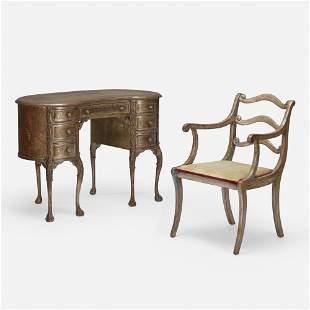 Max Kuehne, Custom writing desk and chair