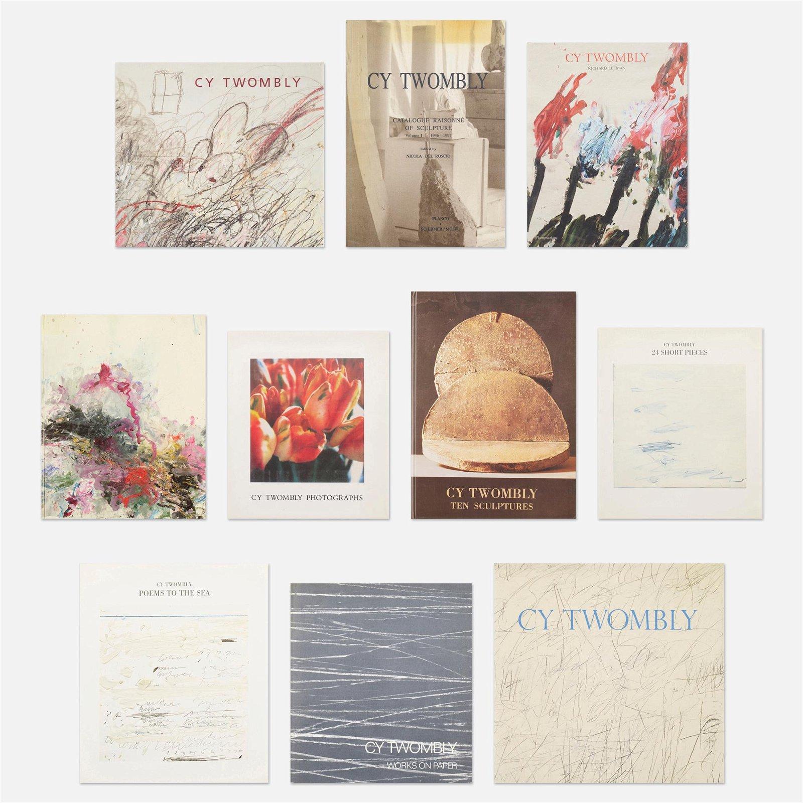 Cy Twombly monographs, twenty-eight
