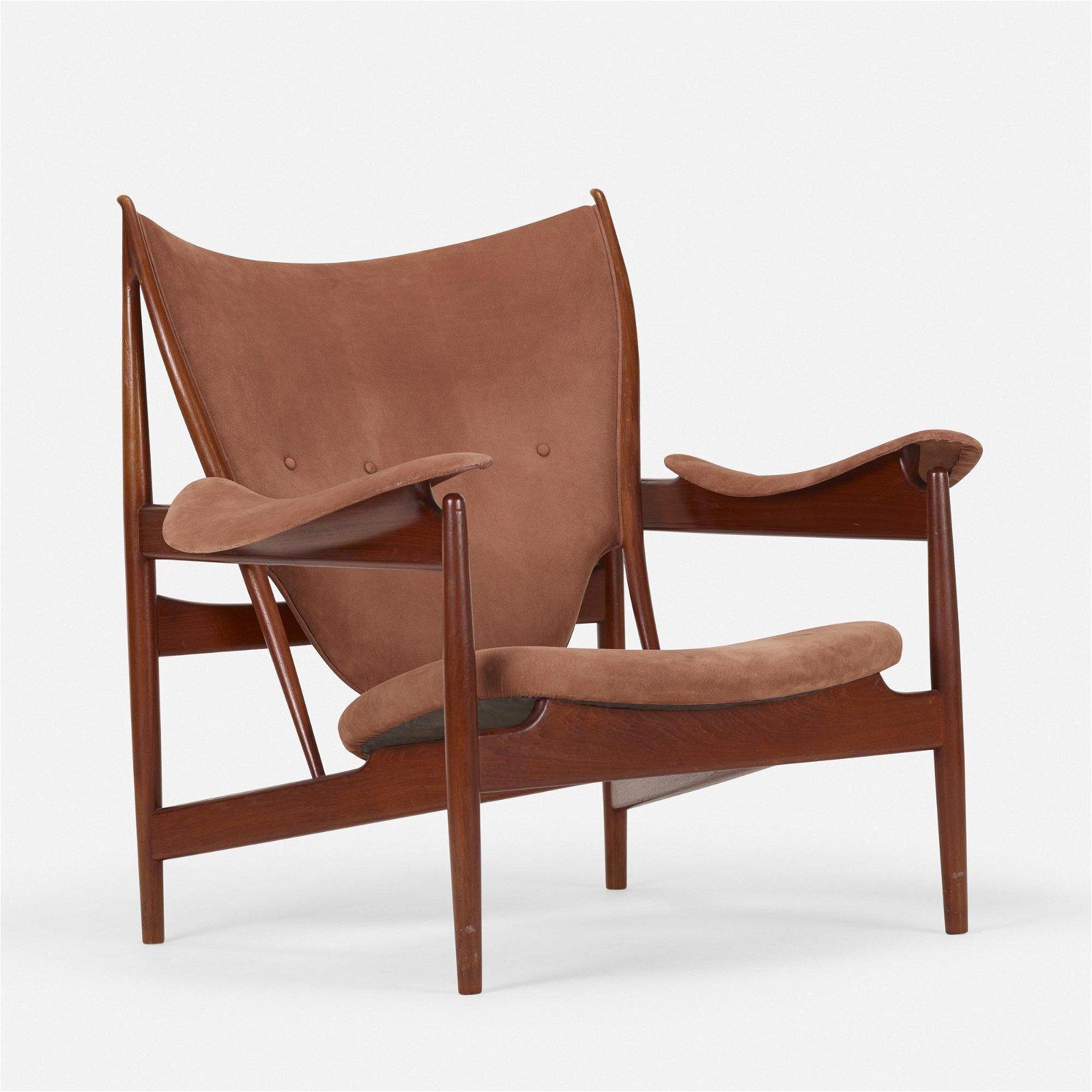 Finn Juhl, Early Chieftain lounge chair