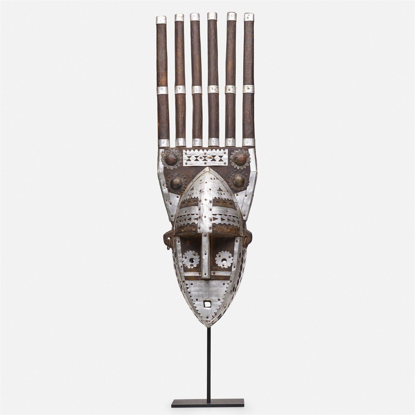 Bamana artist, ntomo mask