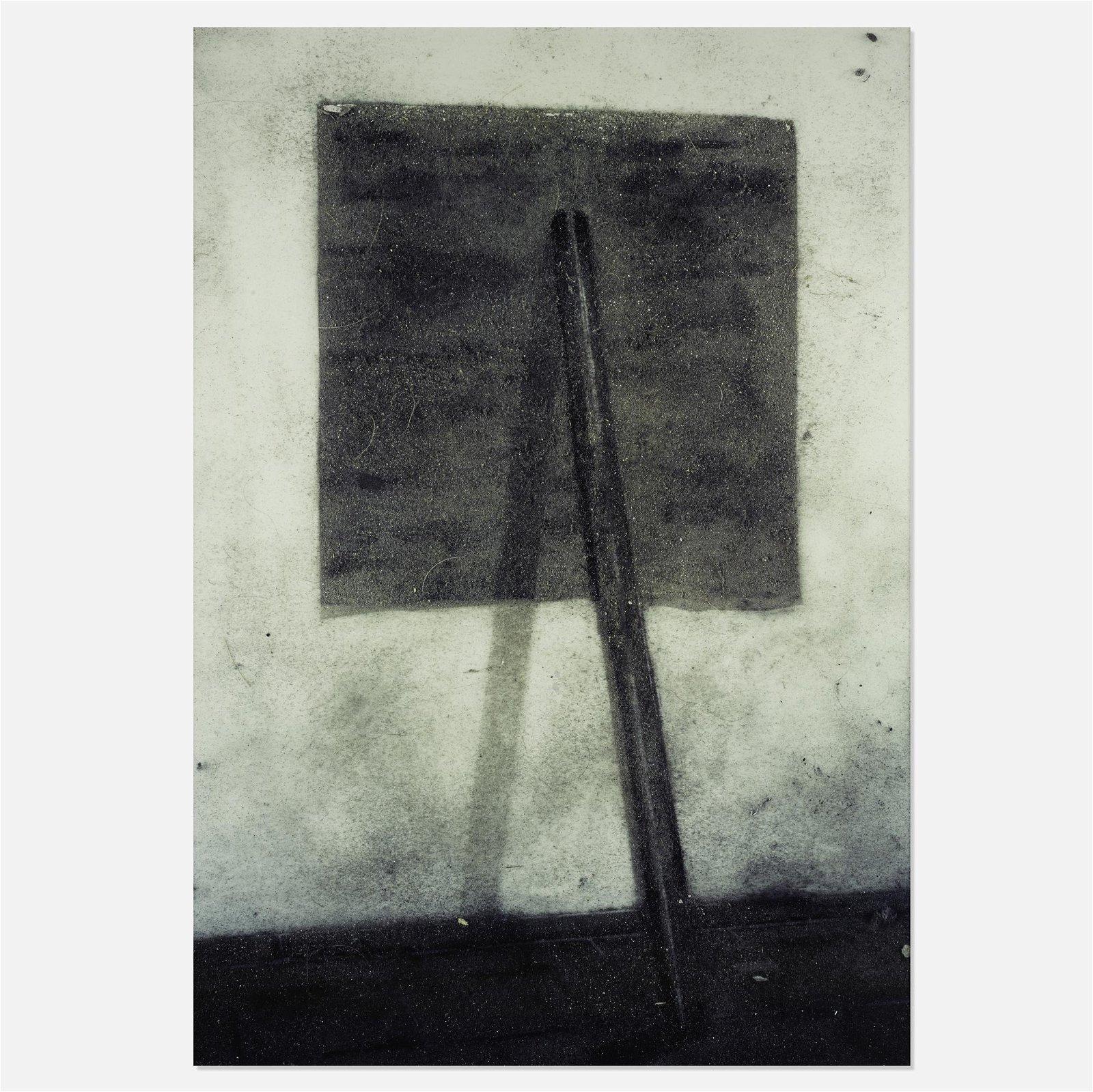 Vik Muniz, After Richard Serra