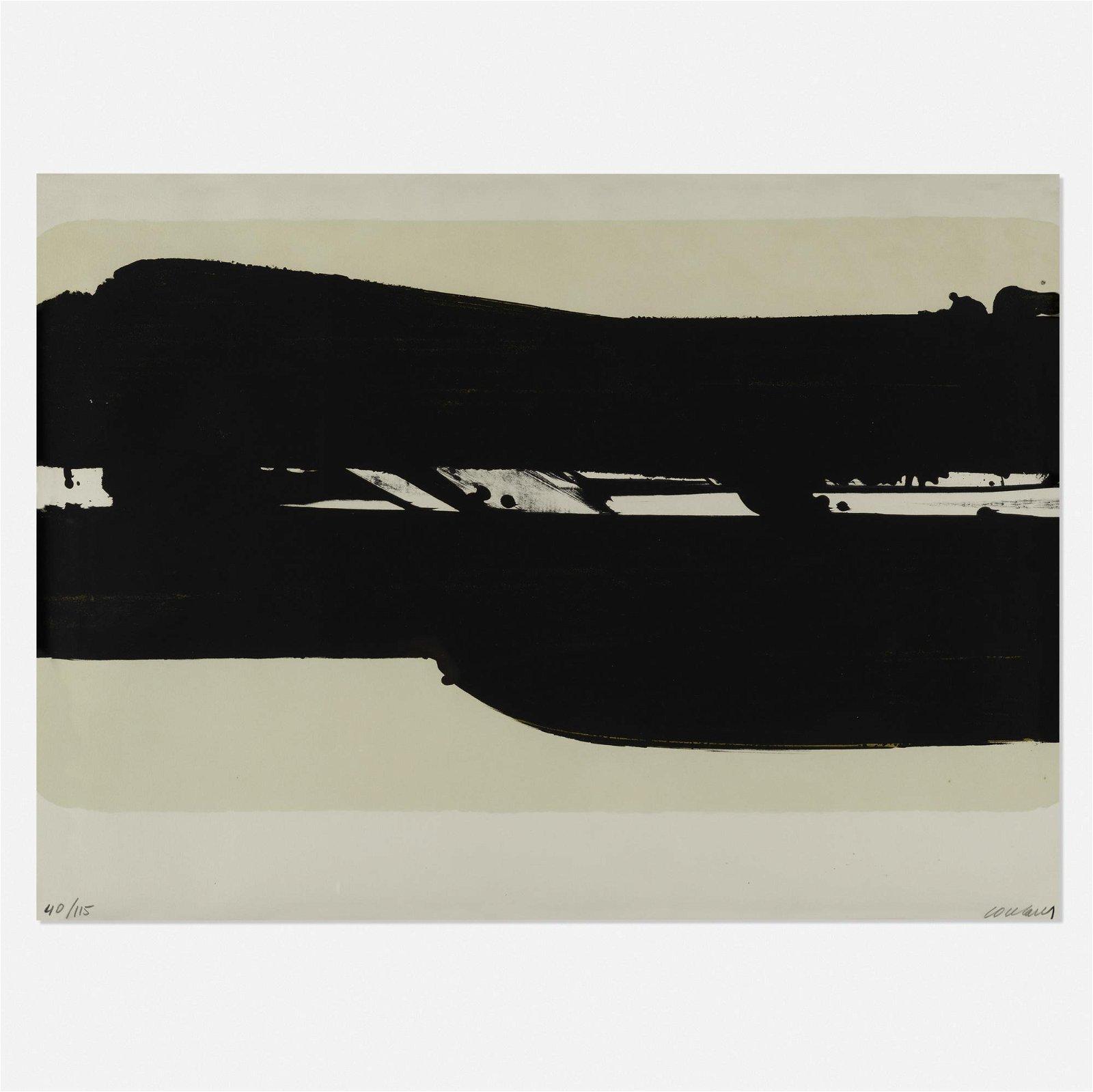Pierre Soulages, Lithographie no. 39
