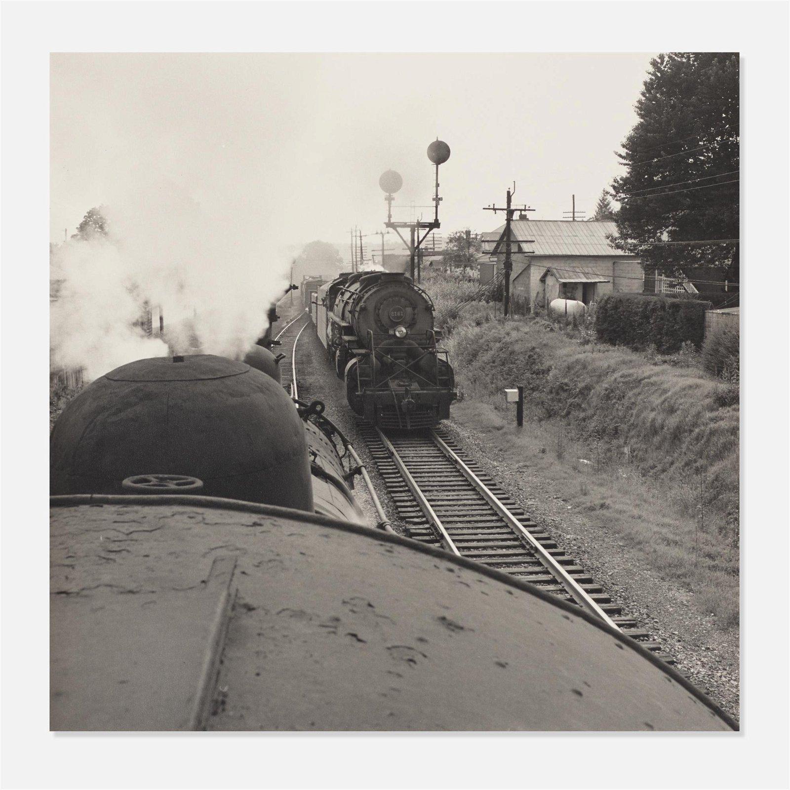 O. Winston Link, Abingdon Branch, Train No. 202…