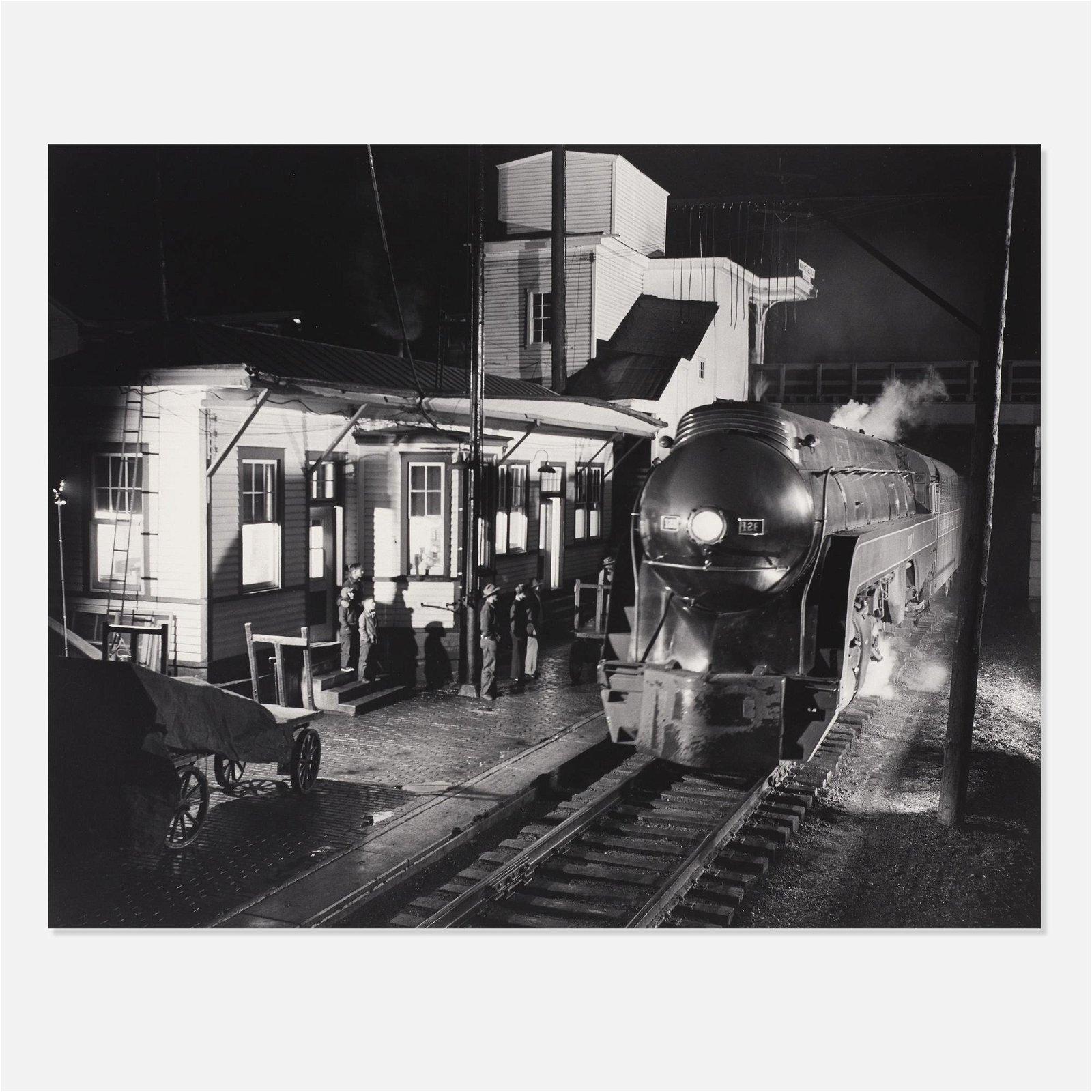 O. Winston Link, Train No. 2 Northbound Arrives…
