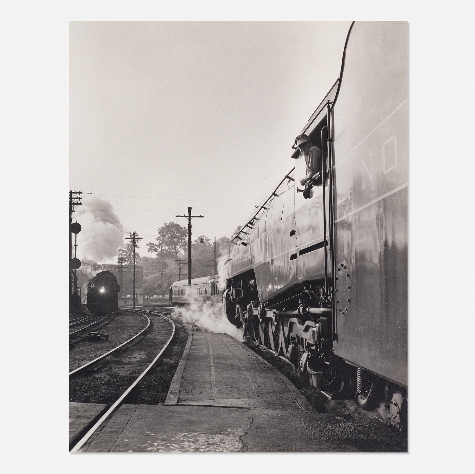 O. Winston Link, Fireman on Train No. 18…