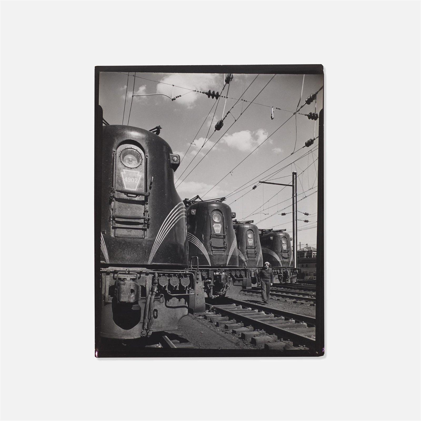 O. Winston Link, Pennsylvania Railroad GG-1…