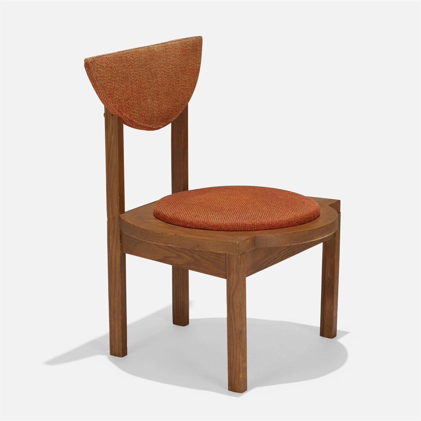 Frank Lloyd Wright, dining chair