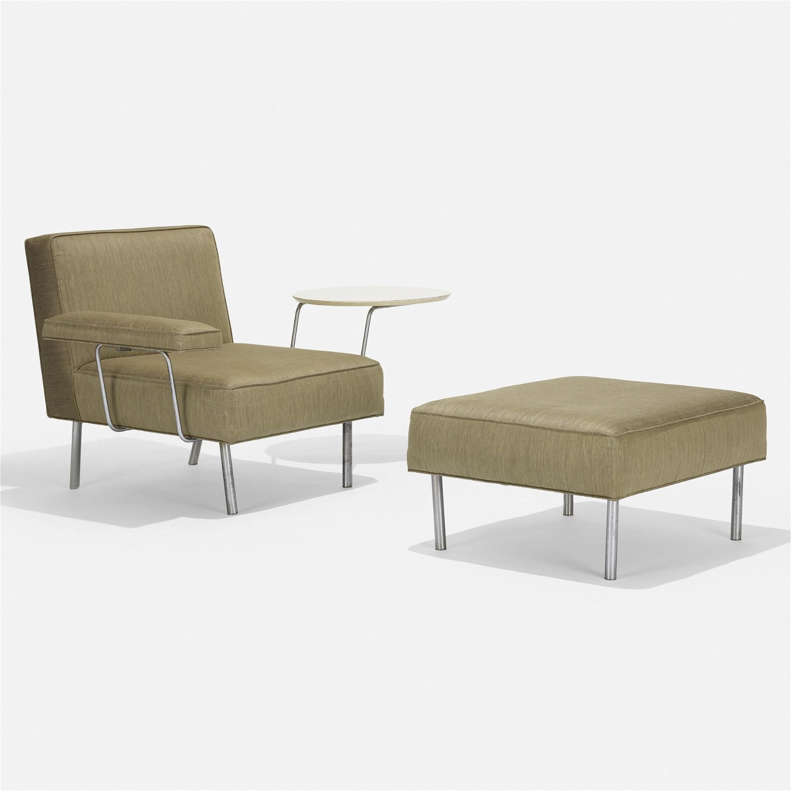 George Nelson & Associates, lounge chair and ottoman