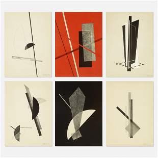 Laszlo Moholy-Nagy, Konstruktionen: Kestnermappe 6