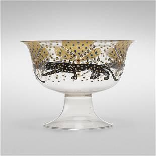 Vittorio Zecchin, Le pantere bowl