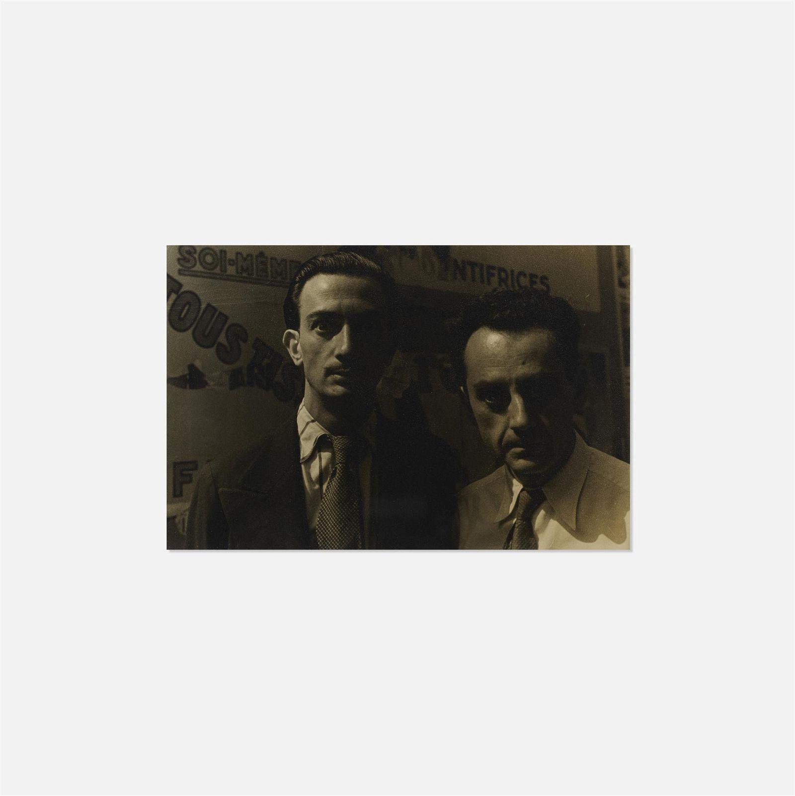 Carl Van Vechten, Salvador Dali and Man Ray, Paris