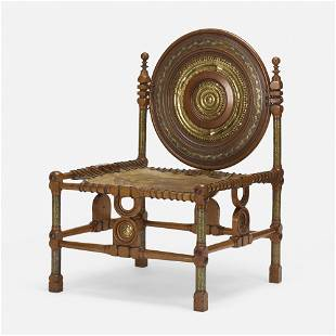 Carlo Bugatti, Rare chair