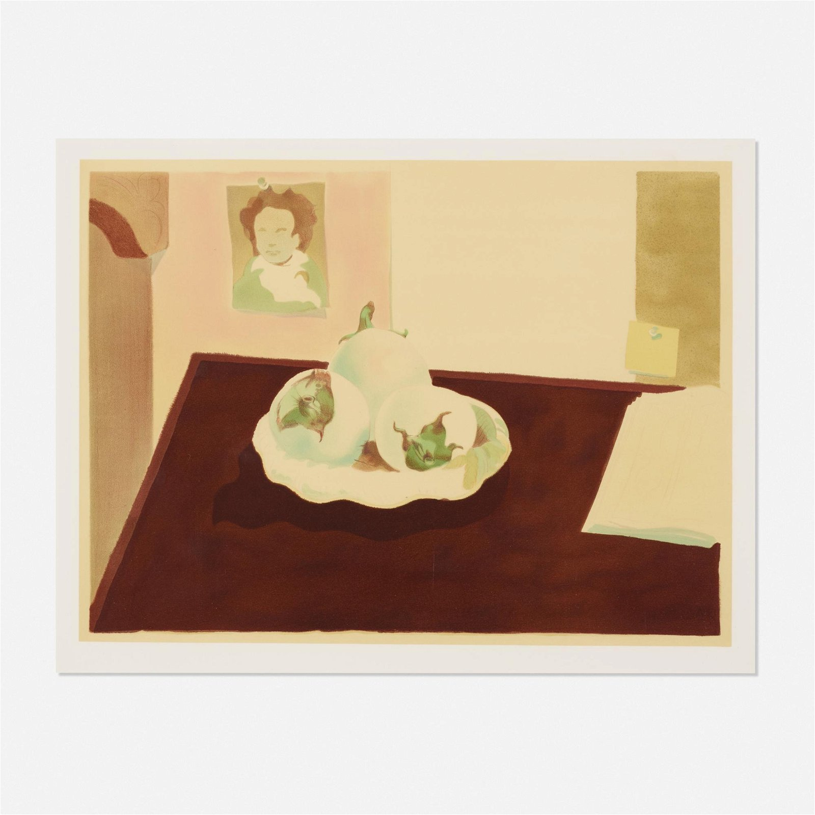 Milton Glaser   Beethoven with Eggplants   1983
