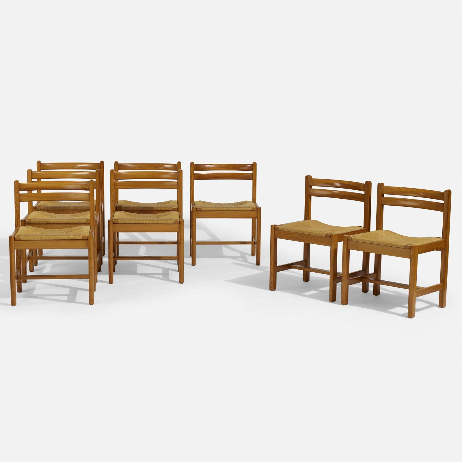 Borge Mogensen, Asserbo dining chairs, set of eight
