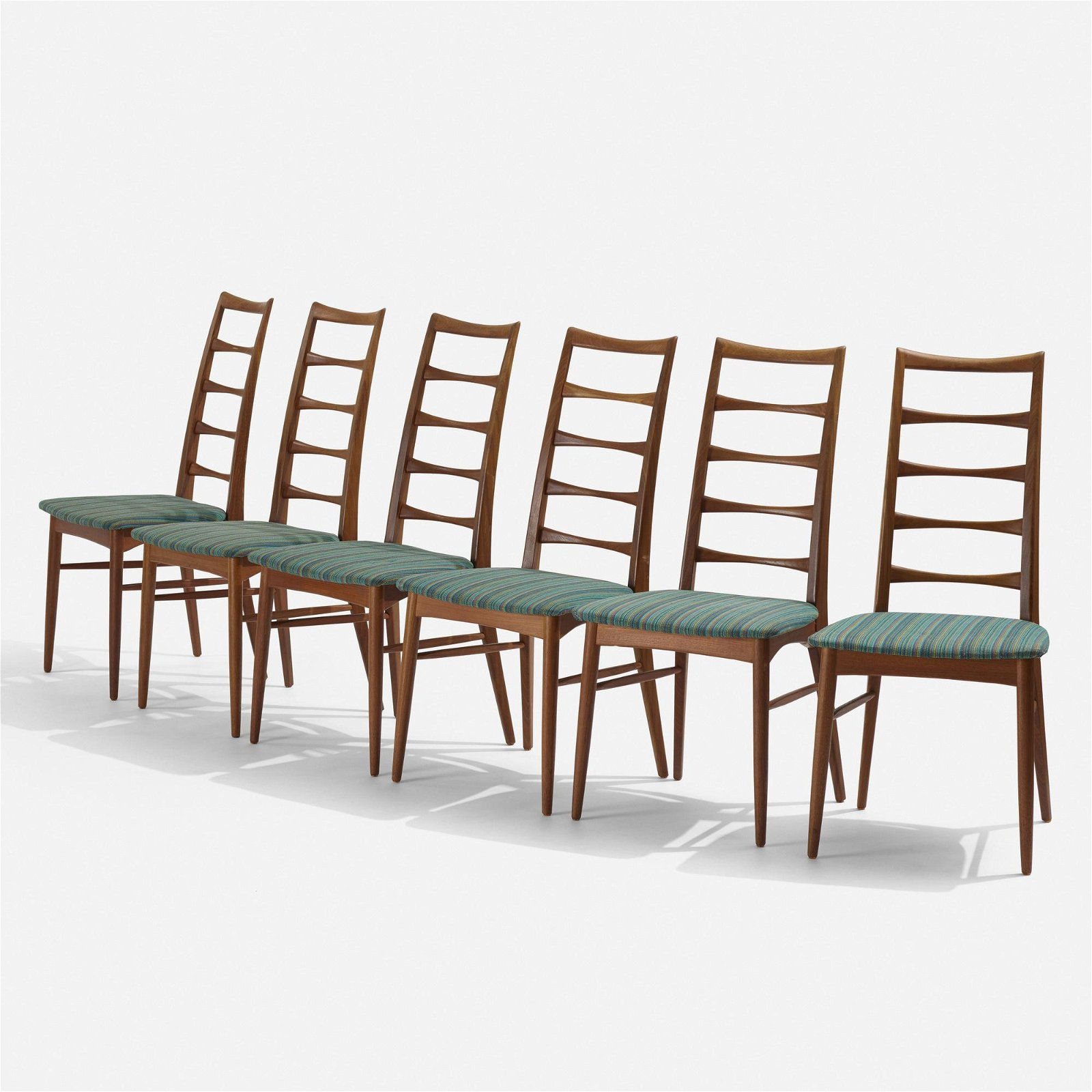 Niels Koefoed, Lis dining chairs, set of six