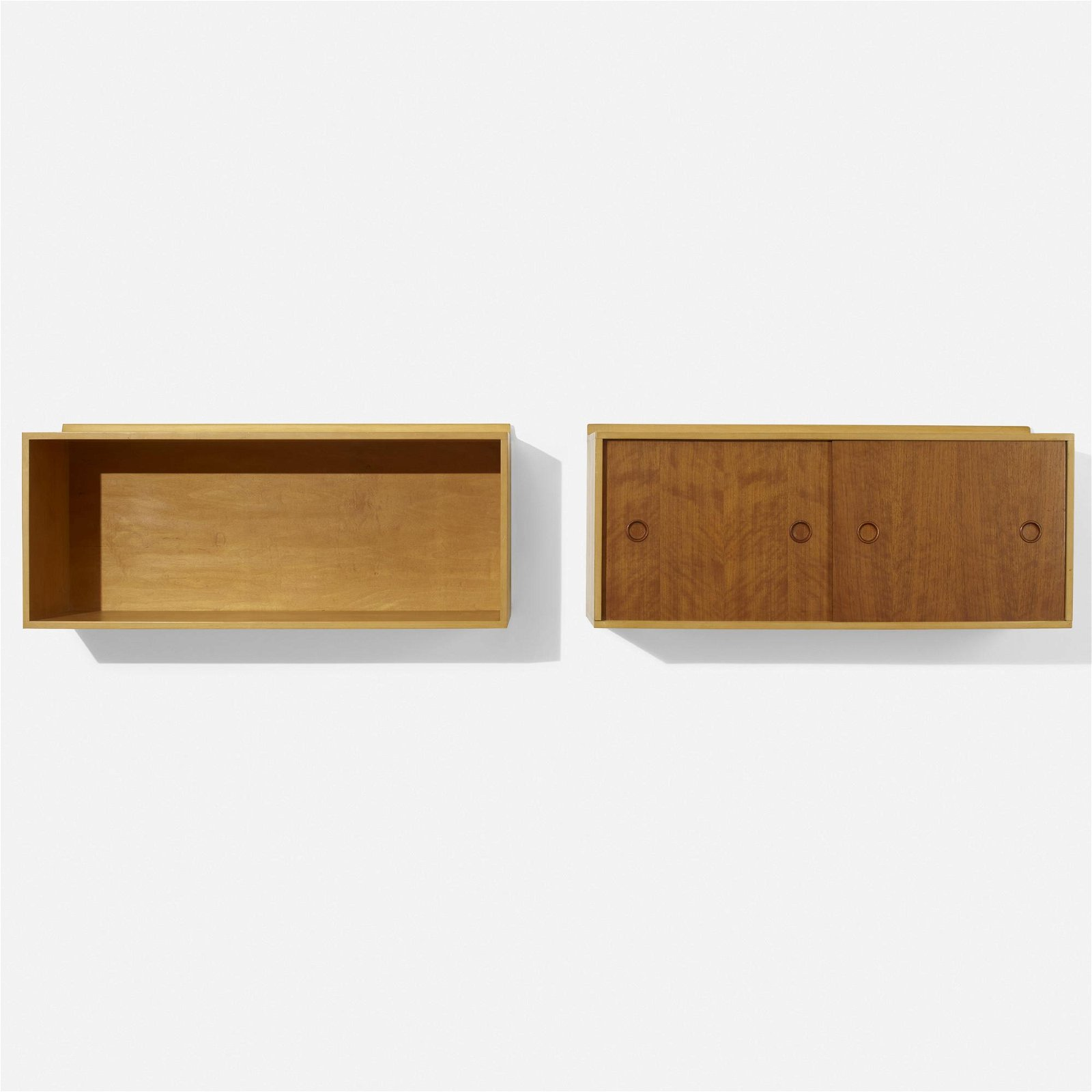Finn Juhl, wall-mounted cabinets  set of two