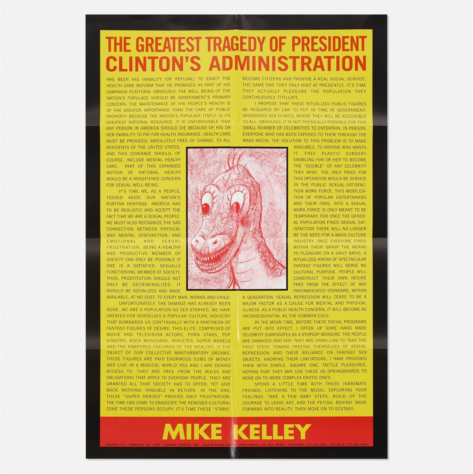 Mike Kelley, The Greatest Tragedy?
