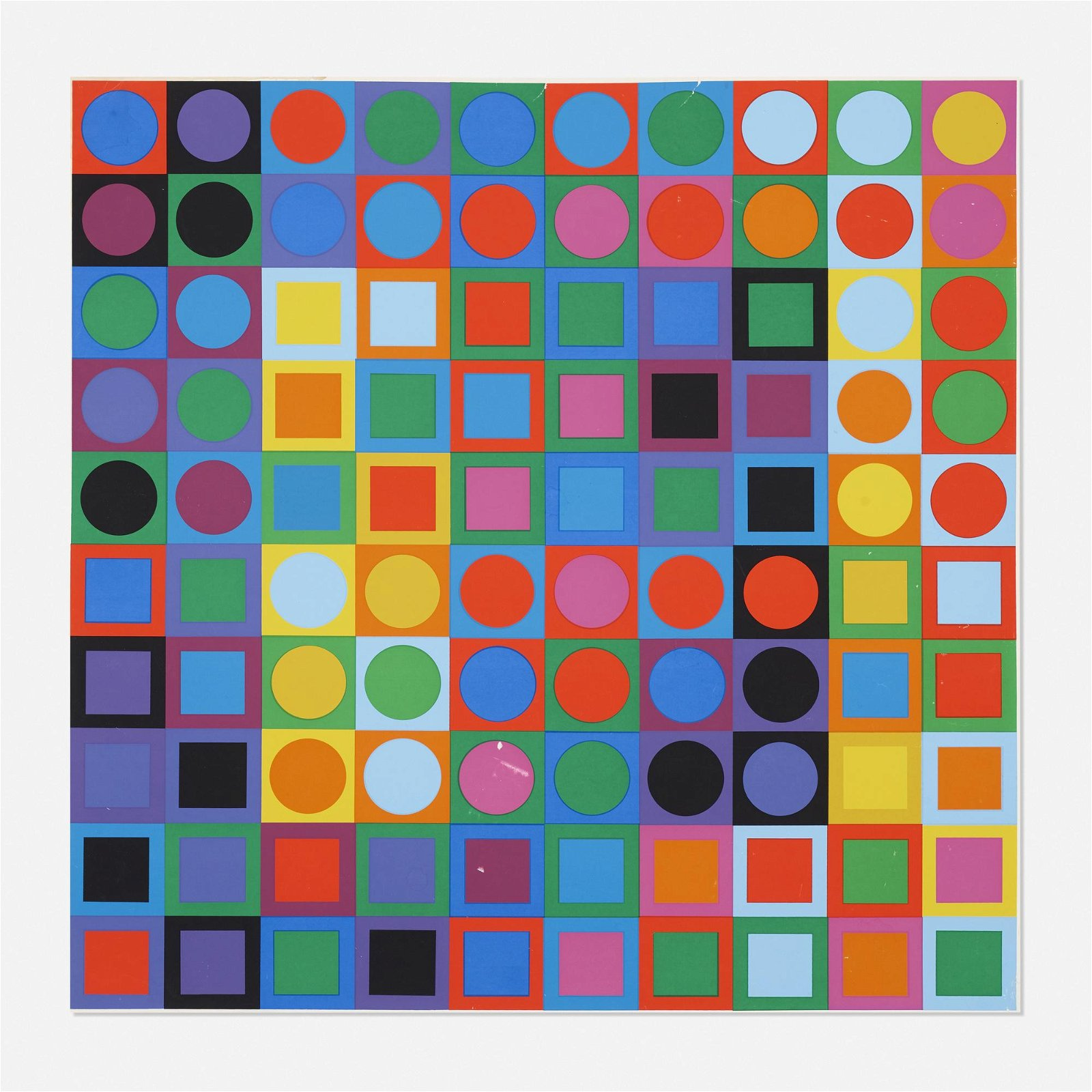 Victor Vasarely, Planetary Folklore Participations