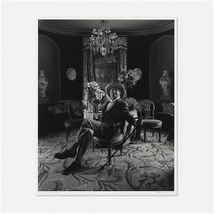 Arnold Newman, Sir Cecil Beaton, Broadchalke, Salisbury