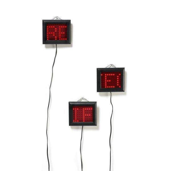 102: Jenny Holzer b. 1950 Survival Series LEDs