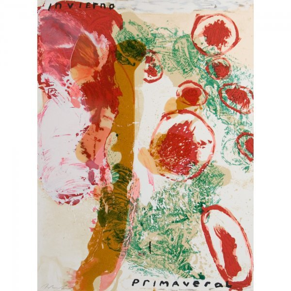 106: Julian Schnabel b. 1951 Invierno