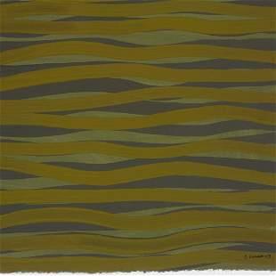 Sol LeWitt 1928-2007 untitled (Wavy Lines)