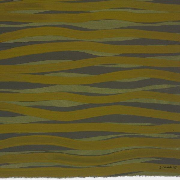 110: Sol LeWitt 1928-2007 untitled (Wavy Lines)
