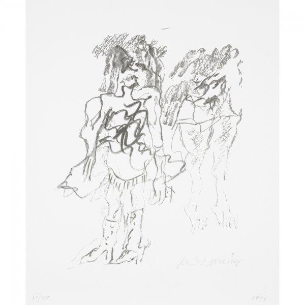 112: Willem de Kooning 1904-1997 Two Women