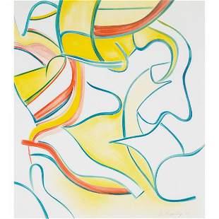 Willem de Kooning 1904-1997 untitled (from Quatre