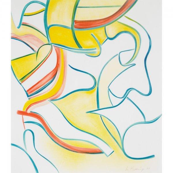 113: Willem de Kooning 1904-1997 untitled (from Quatre