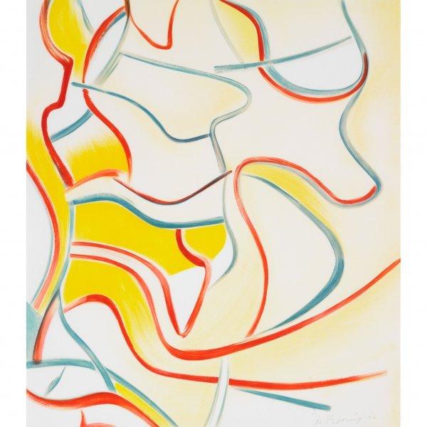 114: Willem de Kooning 1904-1997 untitled (from Quatre