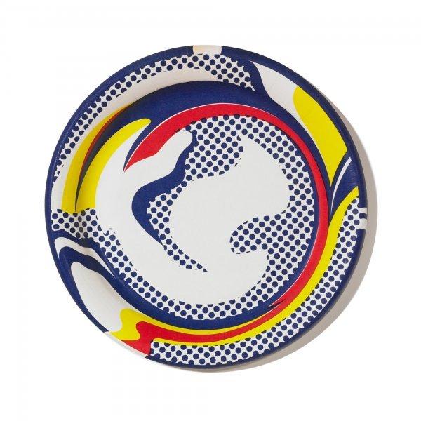 119: Roy Lichtenstein 1923-1997 Paper Plate