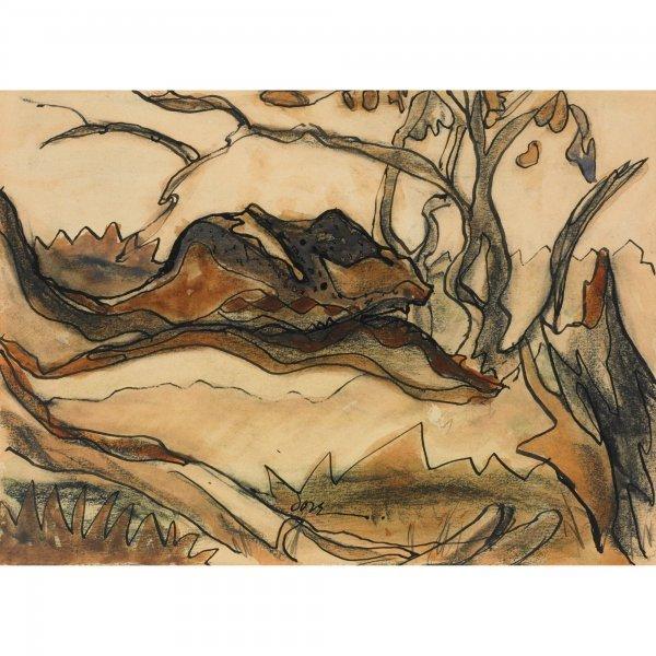 124: Arthur Dove 1880-1946 Tree I
